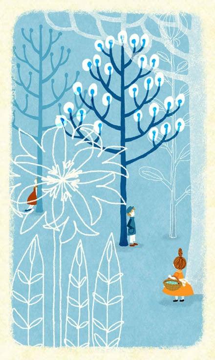 「かわり種の森へようこそ。」イラストレーター三橋絵里子のブログ式絵本-23-3