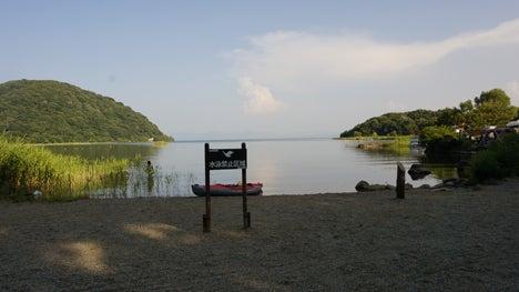 ワンコを連れて!子供と一緒にキャンプに行こう!-2013.8.15猪苗代湖モビレージ43