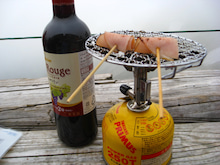ワイン突入