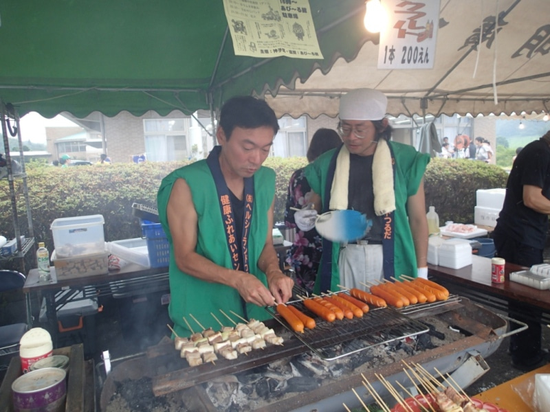 歩き人ふみの徒歩世界旅行 日本・台湾編-フランクフルトと豚串係