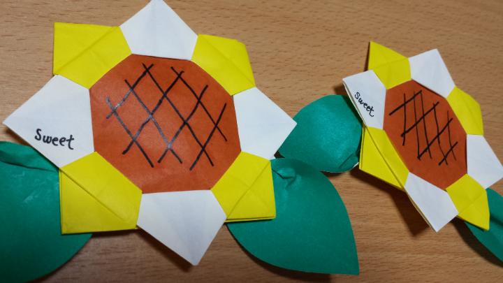紙 折り紙 折り紙 名札 : ameblo.jp