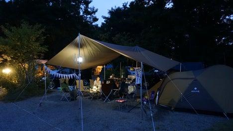 ワンコを連れて!子供と一緒にキャンプに行こう!-2013.8.16猪苗代湖モビレージ43