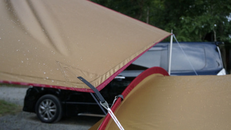 ワンコを連れて!子供と一緒にキャンプに行こう!-2013.8.16猪苗代湖モビレージ28