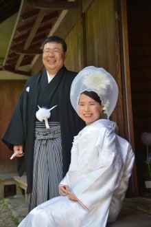 奈良 ドレスショップ☆アトリエステディ ブライダルコーディネーターのブログ-洋髪 綿帽子 白無垢