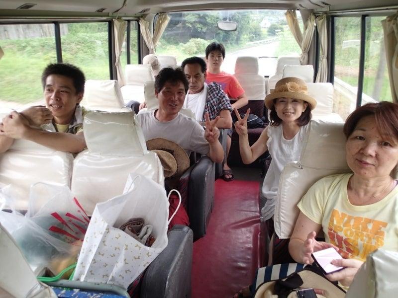 歩き人ふみの徒歩世界旅行 日本・台湾編-遠足バスは行く