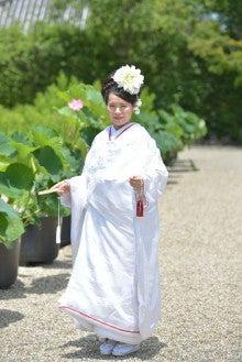 奈良 ドレスショップ☆アトリエステディ ブライダルコーディネーターのブログ-洋髪 白無垢