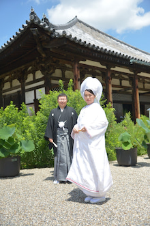 奈良 ドレスショップ☆アトリエステディ ブライダルコーディネーターのブログ-黒紋付 白無垢 挙式