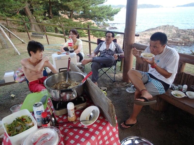 歩き人ふみの徒歩世界旅行 日本・台湾編-食事風景