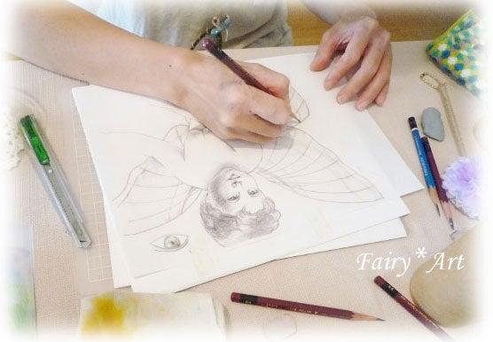 ゜*セントクリスタルアート*゜~水彩色鉛筆で描くスピリットアート~