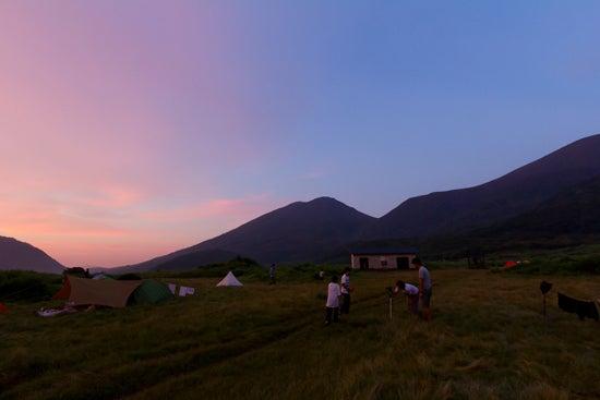 the blog of  kenshin-photo.com-sunset in bougaturu