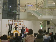 横浜武術院・日本華侘五禽戯倶楽部のblog-アリオ深谷 カンフーショー2