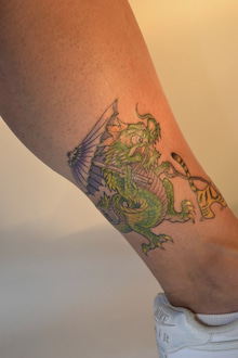 女性彫師BETTYのアトリエ TattooStudio Laruche -630