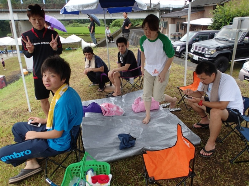 歩き人ふみの徒歩世界旅行 日本・台湾編-あびーる館テント