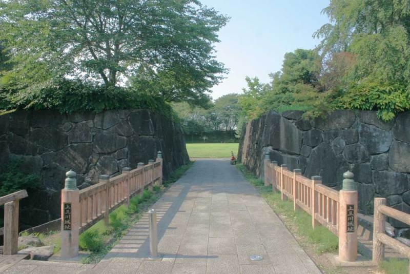 上三川城/正門?