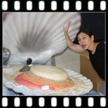 青い森鉄道アテンダントのブログ-大きな貝