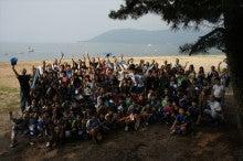 浄土宗災害復興福島事務所のブログ-20130730ふくスマ滋賀との記念写真