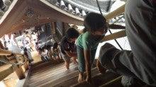 浄土宗災害復興福島事務所のブログ-20130727ふくスマおてつぎ三門階段01