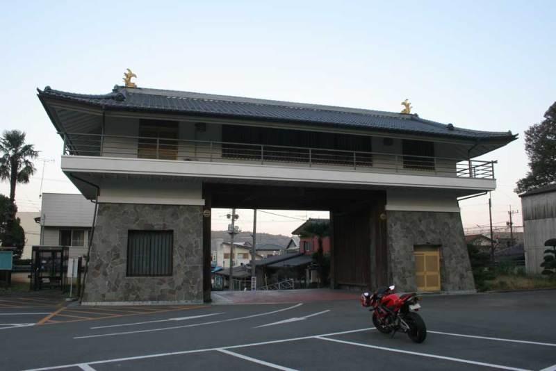 喜連川城/摸擬櫓門