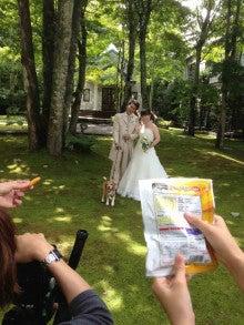 ワンちゃんと一緒にフォトウェディング軽井沢