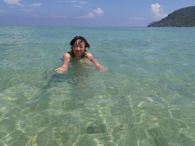 歩き人ふみの徒歩世界旅行 日本・台湾編-あゆみ泳ぐ2