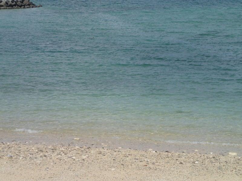 歩き人ふみの徒歩世界旅行 日本・台湾編-あがり浜の海