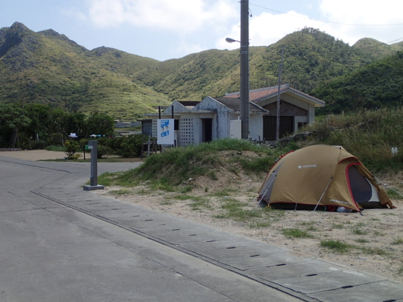 $歩き人ふみの徒歩世界旅行 日本・台湾編-テント