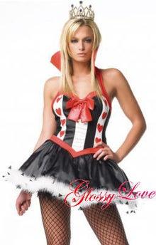 $激安ビキニコスプレダンサー衣装glossyloveクリスマス(サンタ)、ハロウィン仮装あります