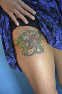 女性彫師BETTYのアトリエ TattooStudio Laruche -429