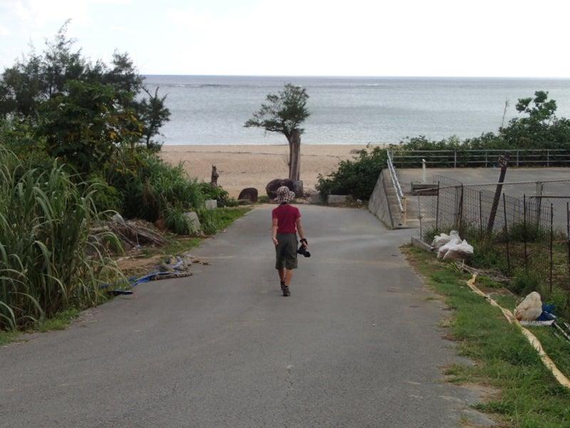 歩き人ふみの徒歩世界旅行 日本・台湾編-アーラ浜