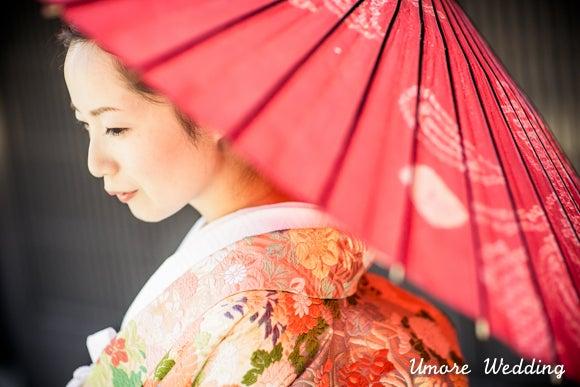 ユーモアウェディングのブログ-京都和装前撮り