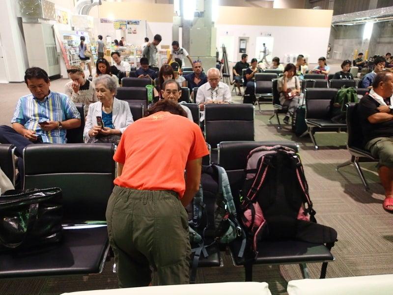 歩き人ふみの徒歩世界旅行 日本・台湾編-LCCターミナル