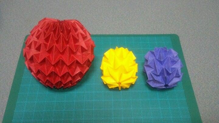 折り 折り紙 折り紙 マジックボール 折り方 : ameblo.jp