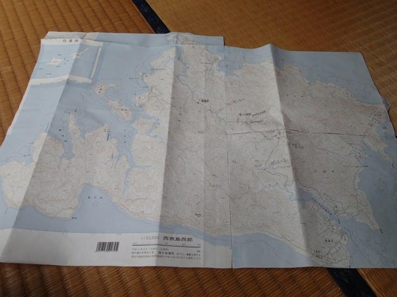 歩き人ふみの徒歩世界旅行 日本・台湾編-西表島の地図