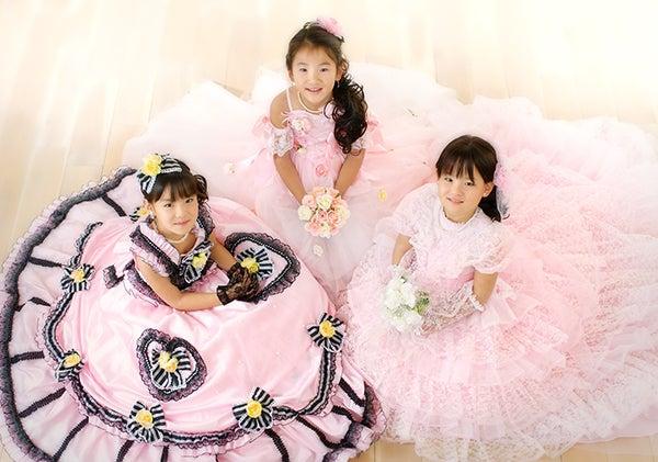 門真・萱島の写真館 Photo Studio Ohana な日々-七五三  ドレス