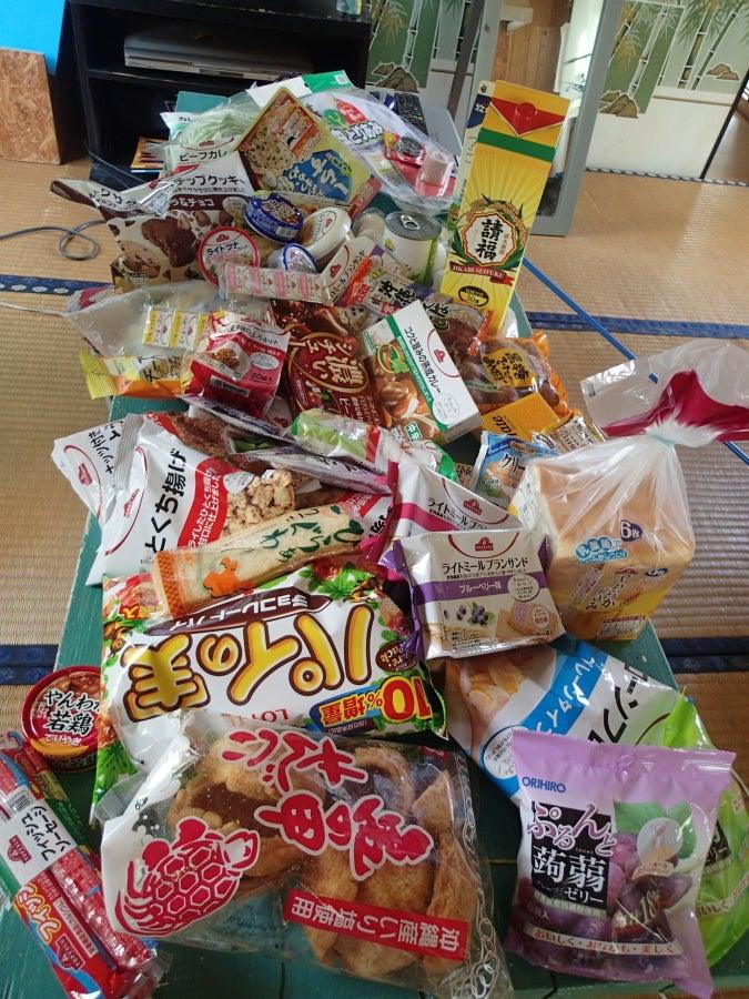 歩き人ふみの徒歩世界旅行 日本・台湾編-食料