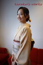 着物でお出かけ 大田区蒲田駅から1駅矢口渡徒歩7分の着方レッスンと着物着付け『きらく』