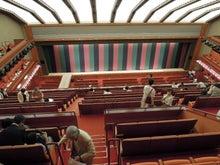 旅行、グルメ巡礼-歌舞伎座の内部
