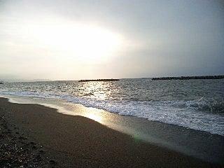 Dr.ミーヤンの下手っぴい釣りブログ-130922 鵜の浜温泉の夕日