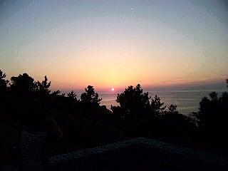 Dr.ミーヤンの下手っぴい釣りブログ-130921 米山SAの夕日