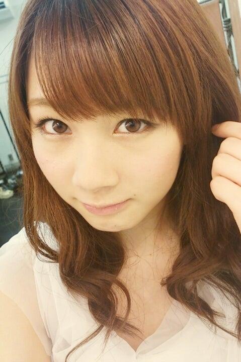 ふんわりヘアの石田亜佑美