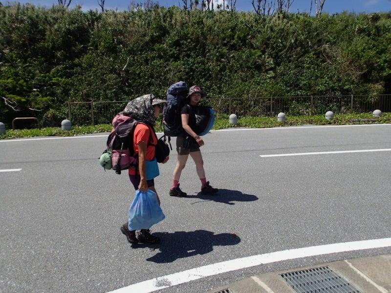 $歩き人ふみの徒歩世界旅行 日本・台湾編-怪しい二人
