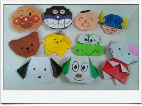 簡単 折り紙 折り紙 キャラクター 簡単 : ameblo.jp
