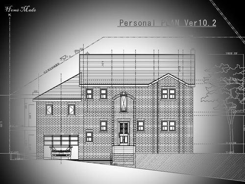 $住まいと環境~手づくり輸入住宅のホームメイド-I邸PLAN北面