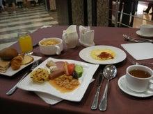 $【とうとう】四十路女のありふれた日常-3906_朝食@Petra Moon Hotel。