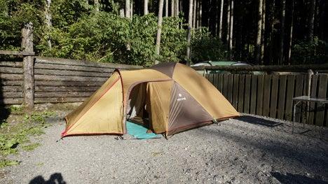 ワンコを連れて!子供と一緒にキャンプに行こう!-オーキャン オウルの森3-1