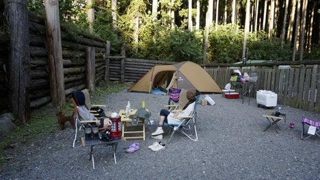 ワンコを連れて!子供と一緒にキャンプに行こう!-オーキャン オウルの森3