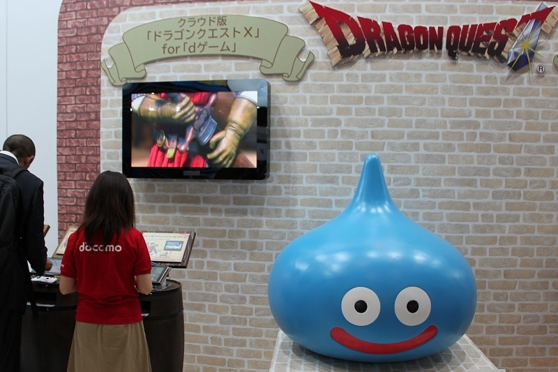 特選街情報 NX-Station Blog-ドラクエⅩ dゲーム版 試遊可
