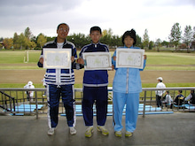 Road to SAROMAN BLUE-3人