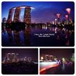 シンガポールの絶景夜…