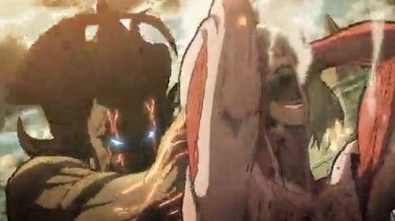 はるのつぶやき-進撃の巨人_女型の巨人と巨人化エレン002
